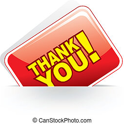 Grateful card - Thank you - grateful card Vector...