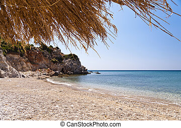 Beach on Samos