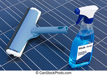 Solar cells and detergent  - german