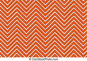 Trendy chevron patterned background, red and white