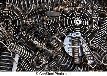 Springs and coils - Springs, coils and spare parts
