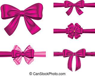 Violet gift ribbon set