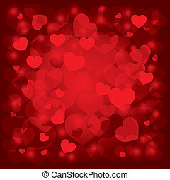 beautiful background on Valentine's Day - beautiful vector...