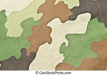 Military texture - camouflage