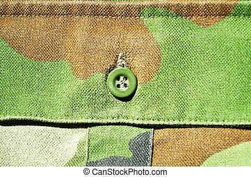 Military pocket macro shot