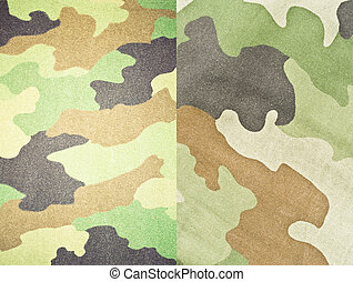 Set of army and military backgrounds and textures