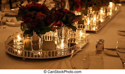 Elegant  dinner table setting 2