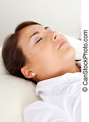 Facial Beauty Acupuncture Treatment - Relaxed acupuncture...