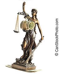 estatua, Justicia