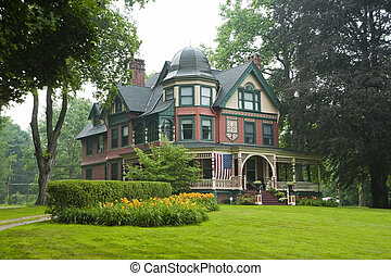 Victorian grand house - Restored victorian beauty in western...