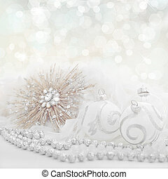 white christmas holiday background