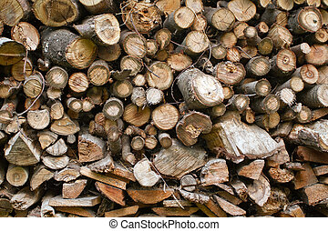 wooden texture - sawed wooden texture, close up with texture