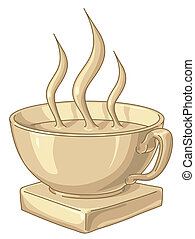 Golden Coffee Cup - Golden award to the best coffee drinker