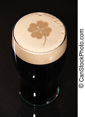 St Patricks day - A pint of irish stout for St patrick day,...