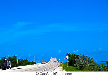 bridge in the Florida Keys