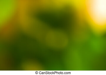 Abstract backround - Green blurred abstract background and...