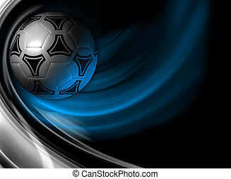 Soccer background - background for poster, booklet,...