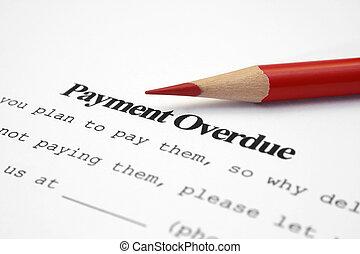 pagamento, overdue