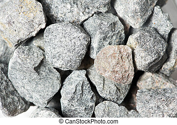 crushed stones textures - Large fraction of crushed stones...