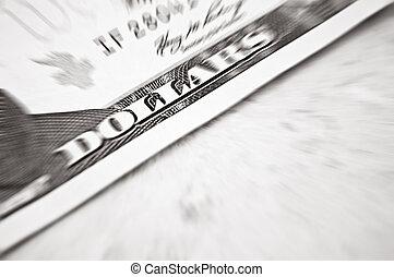 Dollar macro shot