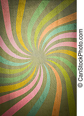 Grunge multicolored stripes background