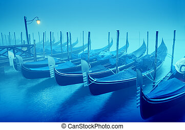 Gondolas, Venice - Italy