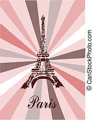 Paris - Eiffel tower in Paris