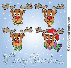 Christmas theme greeting card 6