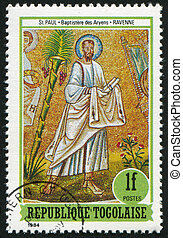 Saint Paul - TOGO - CIRCA 1984: stamp printed by Togo, shows...