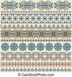 vectorten seamless vintage border pattern - vector ten...