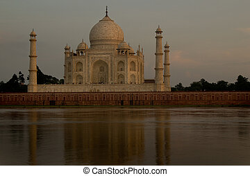 Taj Mahal, Agra, India Romantic picture taken in sunset...