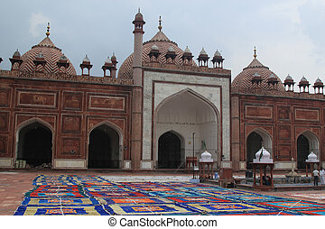 Jama Masjid, one of the largest Mosque in India - The Jama...