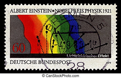 Postage stamp. - Germany-CIRCA 1979:A stamp printed in...