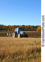 Finnish agriculture in the field a summer time