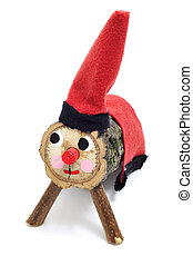Tio de Nadal, typical of Catalonia, Spain - a Tio de Nadal,...