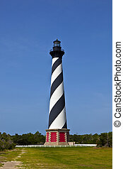 Cape Hatteras Lighthouse - Cape Hatteras Lighthouse in...