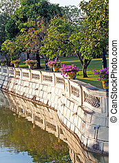 bridge at Bang Pa-In Palace - Bang Pa-In Aisawan Thipya-Art...