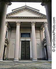 neoclassical architecture in Novara - neoclassical...