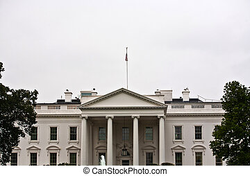 White House in Washington DC - The White House in Washington...
