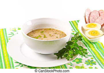 Zurek is a decent Polish soup