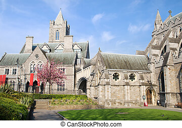 Christ Church Cathedral in Dublin - 11th century Gothic...