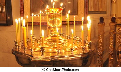 Russian Orthodox Church Candle - Russian Orthodox Church