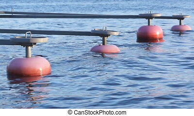 Lake dock balances - real time