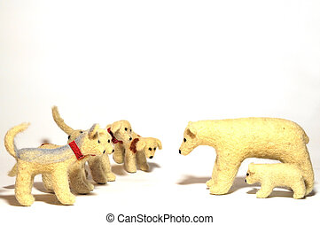 stuffed animals dogs and bears - stuffed animals, dogs...