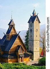Karpacz, kyrka, Vang, 02