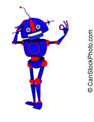 Retro Robot Okay