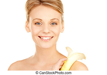 beautiful woman with calla flower - picture of beautiful...