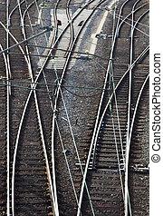 railway in detail