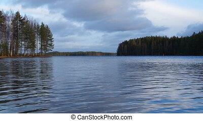 Lake in Finalnd