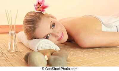 Contentment And Relaxation Spa Therapy